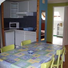 Cuisine équipée appartement Villa Bel Air Luz Saint Sauveur