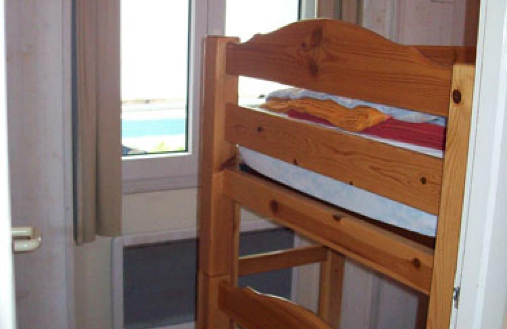 Chambre lits superposés appartement Villa Bel Air Luz Saint Sauveur
