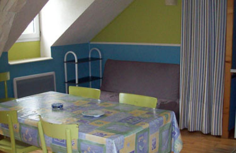 Séjour spacieux appartement Villa Bel Air Luz Saint Sauveur