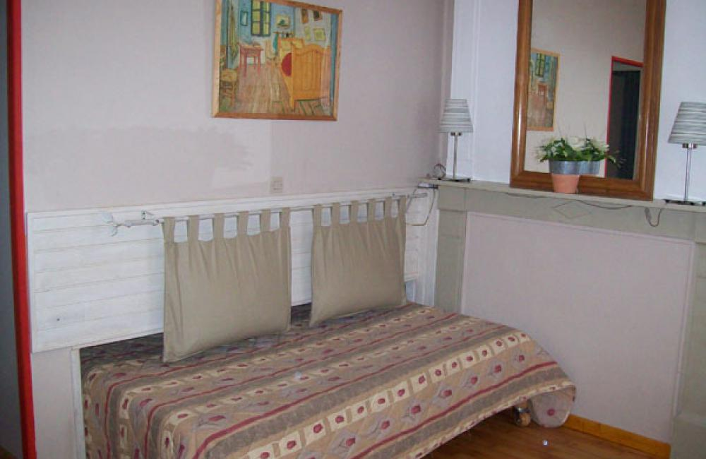 Salon avec couchage studio Villa Bel Air Luz saint Sauveur