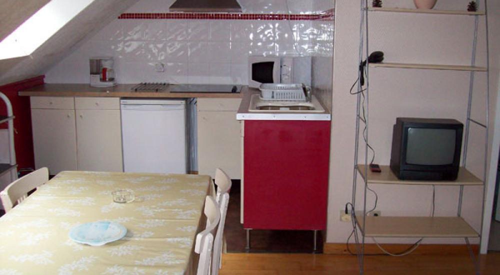 Cuisine appartement Villa Bel Air Luz Saint Sauveur