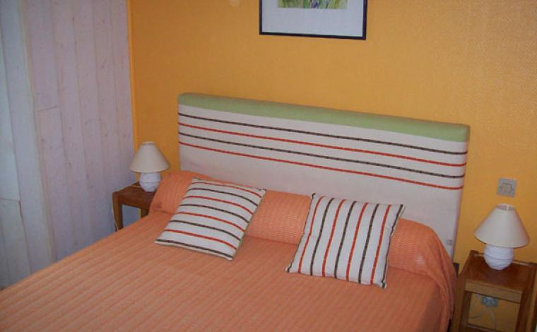 Chambre 2 personnes appartement Villa Bel Air Luz Saint Sauveur