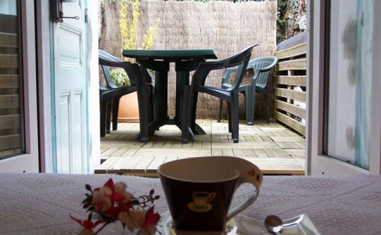 Terrasse appartement Villa Bel Air Luz Saint Sauveur